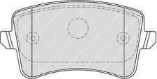 Ferodo FDB4190 Brake Pad Set Front Axle Premier Car Replaces 8K0 698 451