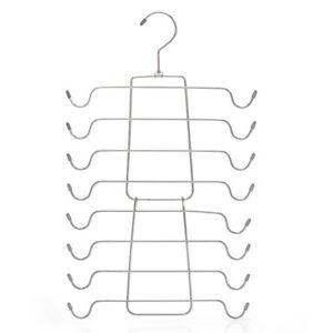 Multi-Layer Foldable Clothes Drying Rack Metal Underwear Bra Hanger Storage Rack