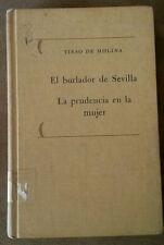 El Burlador de Sevilla y La Prudencia en la Mujer Por Tirso de Molina