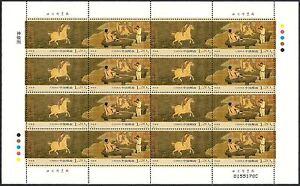 China 2006-29 Magic Steed Sheet Full S/S Horse Painting 神駿圖
