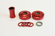 Profile Bottom Bracket Set Red American Size Old School BMX