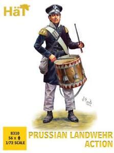 Hat 1/72 Prussian Landwehr Action # 8310