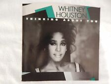 Whitney Houston  'Thinking About You' PICTURE SLEEVE! NEW! ONLY NEW COPY ON eBAY