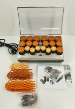 Carmen Softsetter Quick and Big Curl set also for wigs electric heated rollers
