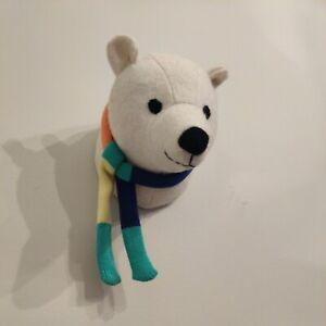 Polar Bear Animal Wall Decor Felt by Pillowfort Wall Mount Welcome to Jungle
