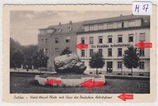 493, Ratibor Horst Wessel Platz gelaufen FP 1941 selten !
