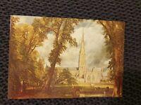 Salisbury Cathedral - John Constable - Vintage Postcard