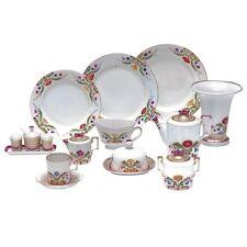 Russian Imperial Lomonosov Porcelain Table Service Moscow River / Zamoskvorechye