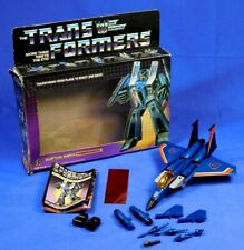 TRANSFORMERS G1 THUNDERCRACKER 1984 COMPLETE WITH BOX