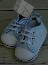 Carter's Crib Shoes - Light Blue & White - Size 3-6 Months - Size 2 - BRAND NEW