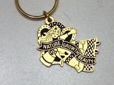 Vintage Angel Keychain Nature Growth Beauty Monach Creations 23244