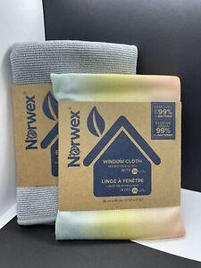 NORWEX BASIC PACKAGE Graphite ENVIROCLOTH & Sunset WINDOW CLOTH Microfiber