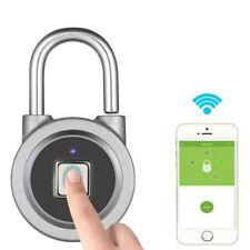 Candado Cerradura Inteligente Huella Digital Antirrobo Impermeable Android & iOS