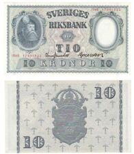 Billete Suecia 10 coronas 1948-P.40i - UNC.