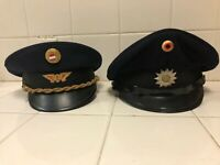 An Austrian Railway Hat And 80's Hamburg Police Used By David Hassellhoff