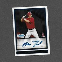Mike Trout 2009 Bowman Chrome Draft Prospects auto RC rookie