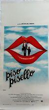 locandina playbill PISO PISELLO Peter Del Monte Valeria D'Obici gadsen