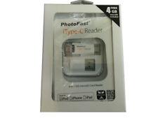 Photofast iType-C 4in1 Lightning + USB-C + USB + Micro USB Card Reader (White)