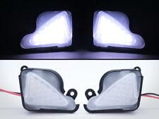 White No Error LED Side Mirror Puddle Light For Skoda Octavia Mk3 5E 2012-2017