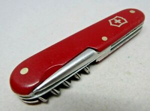 1950's Victorinox / Victoria 91mm Officer Swiss Army Knife