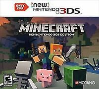 Minecraft: New Nintendo 3DS Edition (New Nintendo 3DS, 2DS XL, 2017) - COMPLETE