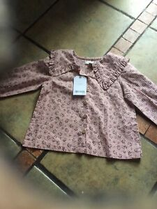 Baby Girl Blouse Next Age 12.18 Months New With Tags
