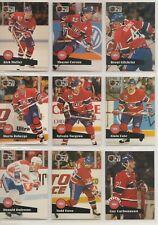 1991-92 Pro Set Series 2 - MONTREAL CANADIENS Team Set - 15 Cards - LECLAIR RC