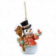 Precious Moments *Home For The Holidays* Snowman Ornie # 101073