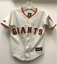 San Francisco SF Giants Tim Lincecum MLB Jersey, Majestic, Sz Youth Small, 8-10