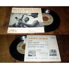 ZOOT SIMS - RECADO BOSSA NOVA OR FRENCH EP COLPIX 1962 W/Languette