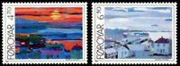 Faroe Islands #166-167 Fa162-163 MNH CV$3.00