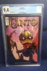 Canto #1 CGC 9.4 Drew Zucker Regular Cover IDW Comics