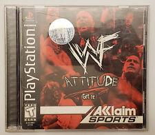 WWF Attitude - Playstation - CIB Excellent Condition