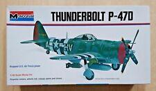 69-6838 MONOGRAM 1/48th Scale REPUBLIC P-47D THUNDERBOLT Plastic Model Kit