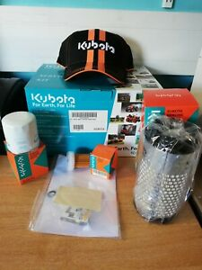GENUINE KUBOTA SERVICE KIT FOR B1220, B1620, B1820 WITH FREE DELIVERY AND GIFT