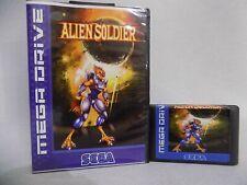 Alien Soldier Sega Genesis Mega Drive.