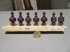 ~ 7 Small Antique Architectural Or Furniture Finials ~ Architectural Salvage ~