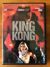 New listing King Kong (Dvd, 2005, Widescreen Collection) Jessica Lange - Great Condition