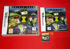 BEN 10 TRIPLE PACK Nintendo Ds Versione Ufficiale Italiana ○○○  USATO - DE