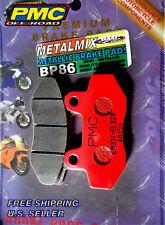 Brake Pads Metallic ATV Scooter Premium BP86 BP86R Replaces- FA86 FA165 FA135 -