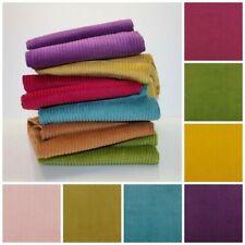 Plain Washed Corduroy 4.5 Wale - Jumbo Cord - Cotton Fabric Dressmaking Oeko-Tex
