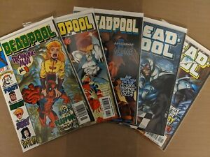 Deadpool #12,13,16,17,18  VF+/NM-  more in store. Combo shipping available.