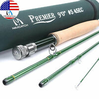 Maxcatch 3/4/5/6/7/8/9/10/12WT 9FT Fly Fishing Rod with Tube , IM8 Carbon Fiber