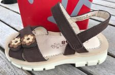 Brown Leather Sandals Adjustable NEWLittle Girls Size 9 M Heel to Toe 6 5/8 inch