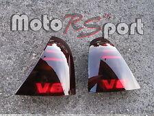 RENAULT CLIO II Typ B schwarze Rückleuchten Black Tail Lights V6 Logo