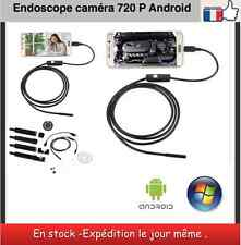 Endoscope Android camera HD 720 P 6 Led longueur 1 m