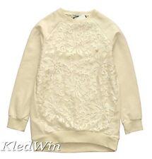 RUBA CUORI sweater met geborduurde tule aan de voorkant, mt.15 jaar 170, NIEUW