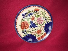 Staffordshire Pearlware Gaudy Dutch Double Rose Plate Ca. 1820