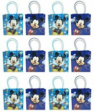 12PCS Disney Mickey Mouse Authentic Goodie Party Favor Gift Birthday Loot Bags