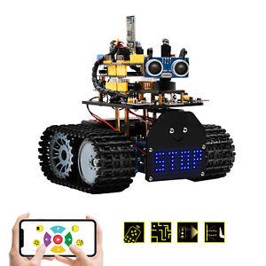 KEYESTUDIO Mini Tank Robot V2.0 r Starter Kit for Arduino Project DIY SEMT